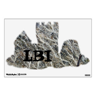 White Moss on Driftwood Wall Graphics