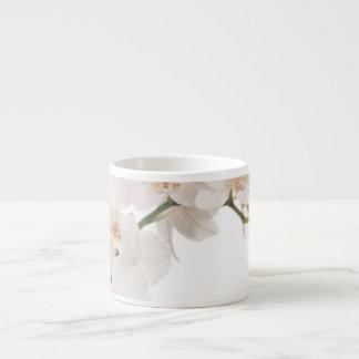 White Moth Orchid Espresso Cup