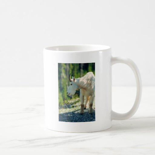 White Mountain Goat Mugs