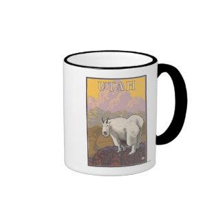 White Mountain GoatUtah Mugs