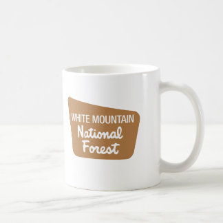 White Mountain National Forest (Sign) Coffee Mug
