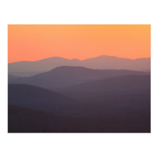 White Mountain National Forest Sunset Postcard