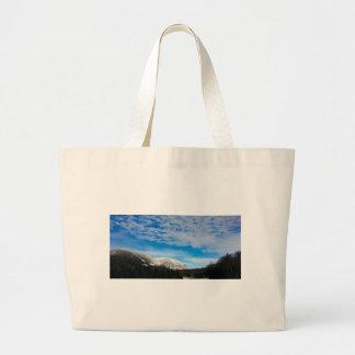 White Mountains Big Blue Sky Large Tote Bag