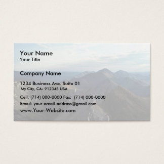 White Mountains Business Card