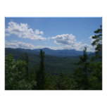 white mountains in New Hampshire Poster