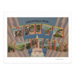 White Mountains, New Hampshire 2 Postcard