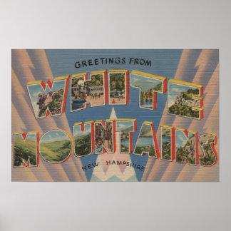 White Mountains, New Hampshire 2 Poster