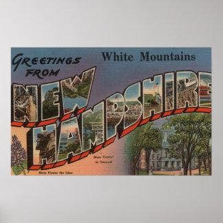 White Mountains, New Hampshire 3 Poster