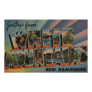 White Mountains, New Hampshire 4 Poster