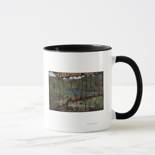 White Mountains, New Hampshire - Dixville Mug