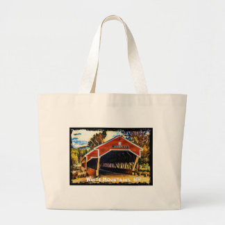 White Mountains, New Hampshire Large Tote Bag
