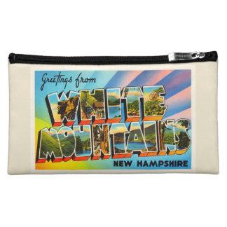 White Mountains New Hampshire NH Travel Souvenir Makeup Bag