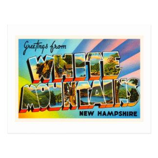White Mountains New Hampshire NH Travel Souvenir Postcard
