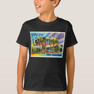 White Mountains New Hampshire NH Travel Souvenir T-Shirt