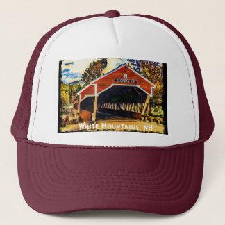 White Mountains, New Hampshire Trucker Hat