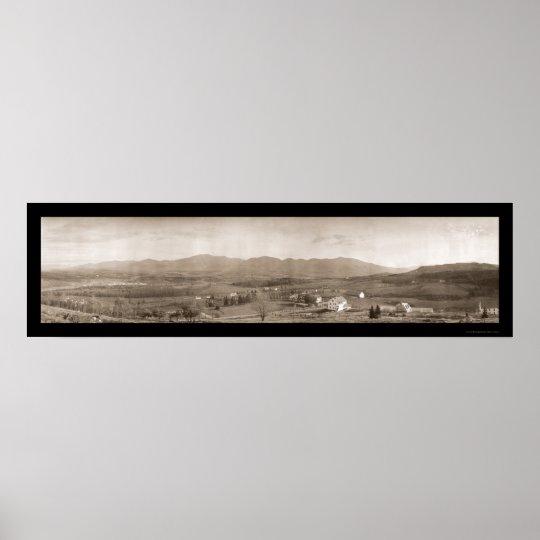 White Mountains NH Photo 1912 Poster