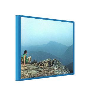 White Mountains Vista Canvas Print