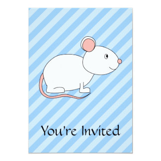 White Mouse. Card