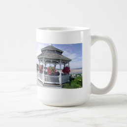 White Mug - 11 oz  or 15 oz sizes - MAINE GAZEBO