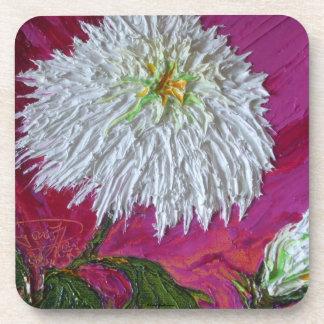 White Mum Coasters