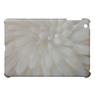 White Mum Flower iPad Case