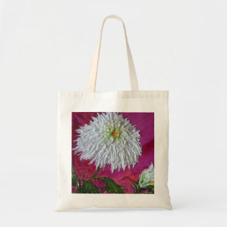 White Mum Tote Bag