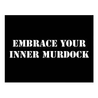 White Murdock Postcard