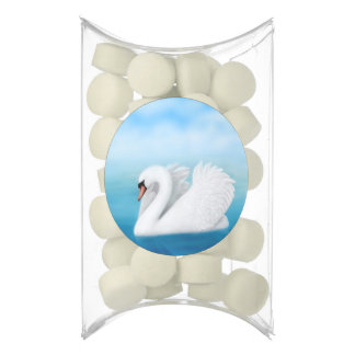 White Mute Swan Gum Party Favors
