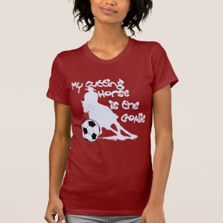 white- my cutting horse is the goalie shirt