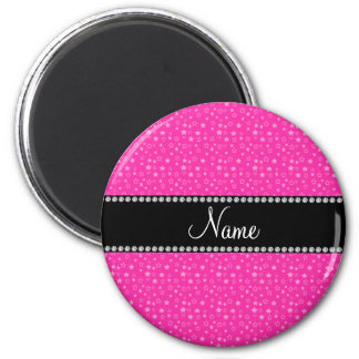 White name stripe template magnet