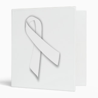 White National Day of Remembrance Ribbon Binder