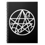White Necronomicon Seal Notebook