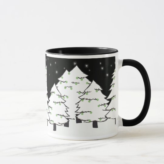 White Night Mug
