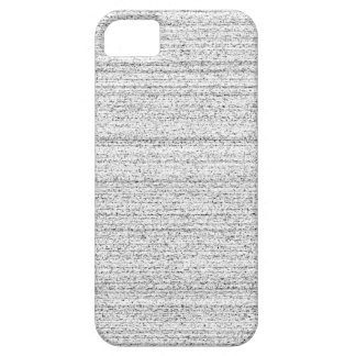 White Noise. Black and White Snowy Grain. iPhone 5 Cover