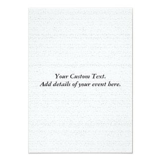 White Noise. Black and White Snowy Grain. 5x7 Paper Invitation Card