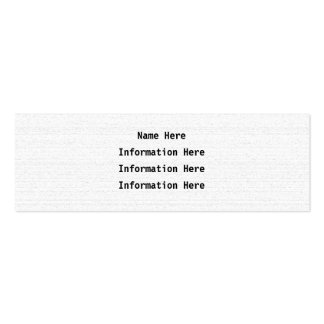 White Noise. Black and White Snowy Grain. Mini Business Card