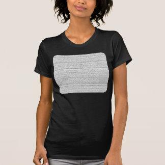 White Noise Black and White Snowy Grain T-shirts