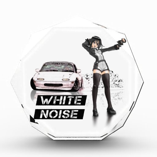 White Noise MX5 Miata Acrylic Award
