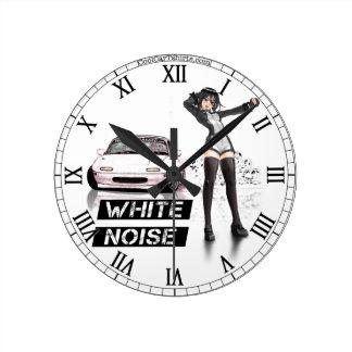 White Noise MX5 Miata Clock