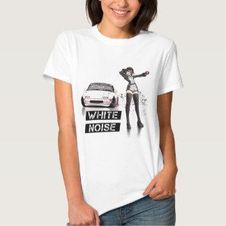 White Noise MX5 Miata T Shirt