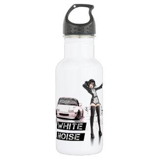 White Noise MX5 Miata Water Bottle