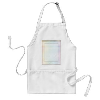 White Noise Pastel Adult Apron