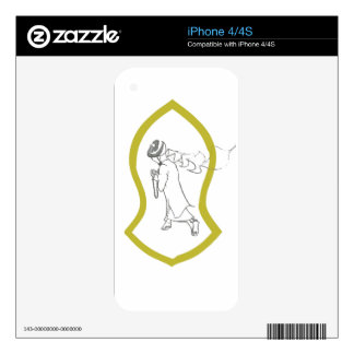 WHITE Nomads Sunnah Sandal Skin Any device iPhone 4 Decals