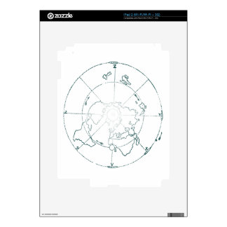 White North Pole AE Map Decals For The iPad 2