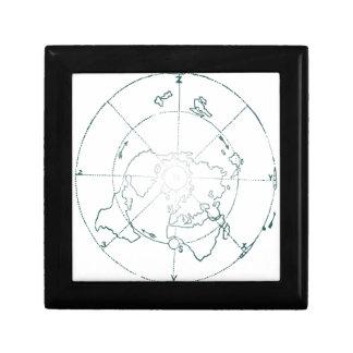 White North Pole AE Map Jewelry Box