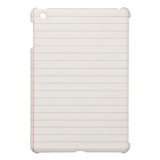 White Notepad iPad Cases