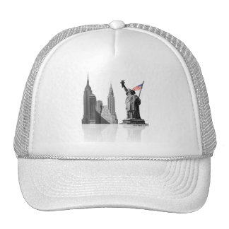 White NY Trucker Hat