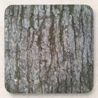 White Oak Bark Coaster