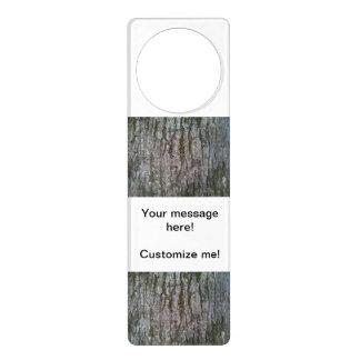 White Oak Door Hanger