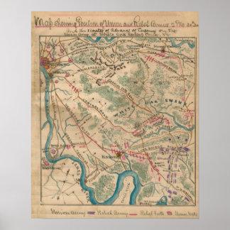 White Oak Swamp Poster